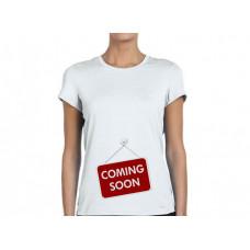 """""""Coming Soon"""" sieviešu T-krekls ar sublimācija apdruku"""