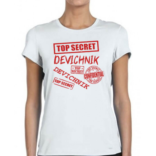 """""""Devichnik"""" футболка женская"""