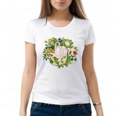 """""""Līga"""" sieviešu T-krekls ar sublimācija apdruku"""