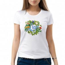 """""""Līgo"""" sieviešu T-krekls ar sublimācija apdruku"""