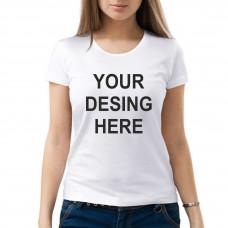 T-krekls sieviešu ar sublimācijas apdruku